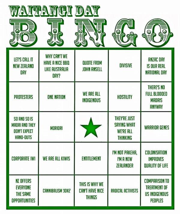 Waitangi-Day-bingo